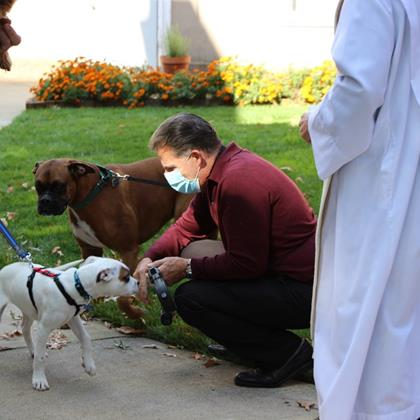 Click to view album: 2020 Blessing of the Animals