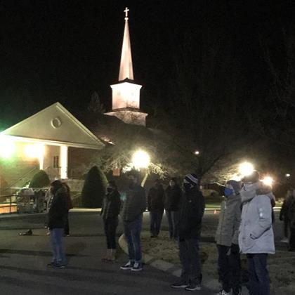 Click to view album: 2020 Flashlight Prayer Vigil at St. Matthew's