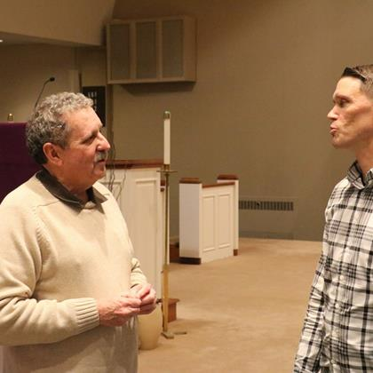 Click to view album: 2020,Blessed Sacrament Parish Lenten Mission, Session 1