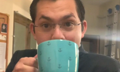 "Watch our ""A Half Cup of Coffee Show"" with our Special Guest Fr. Ellis"
