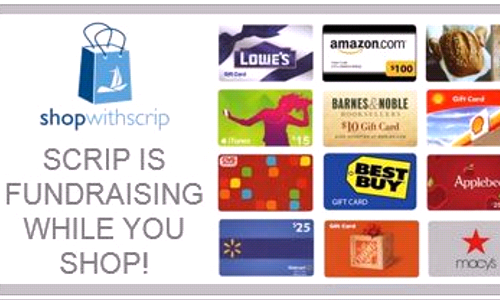 Gift Cards on Sale at St. Matthew Church