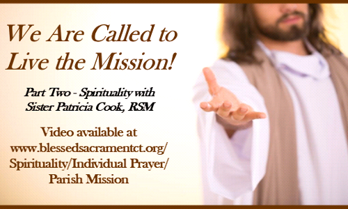 Parish Mission - Spirituality - Video Available