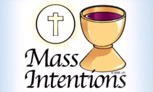 Mass Intentions Update