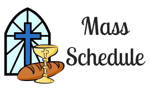 Blessed Sacrament Parish Mass Schedule